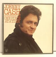 "JOHNNY CASH LP Columbia KC 34193 One Piece at a Time 12"" Country Vinyl Record"