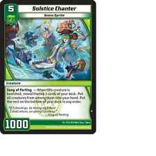 Kaijudo X3 SOLSTICE CHANTER Common #147/160 15VTX (Playset) Vortex DUEL MASTERS