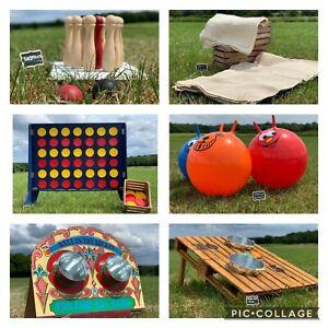 GIANT Outdoor Garden Games To Hire *HIRE DEPOSIT ONLY* Sussex, Surrey & Kent