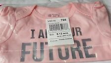 Children'S Place I Am Your Future President Pink Bodysuit Hf529 9-12 Months Csa