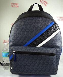 Michael Kors Cooper Mens MK Signature Admiral Multi Backpack