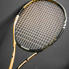 WILSON BLX Blade Tour 93 mid NEW STRINGS 18x20 racquet L2, 4 1/4 leather grip