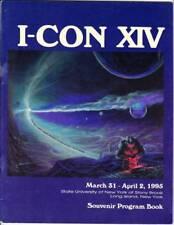 I-CON XIV PROGRAM BOOK - 1995 sci-fi fanzine - Forrest Ackerman, Pat Morrissey