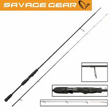 Savage Gear Black Savage Dropshot 223cm 2-12g Rute, Spinnrute für Barsch