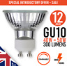 12x Dimmable GU10 40W/50W 240V Reflector Down Lighter Halogen Lamp Light Bulbs
