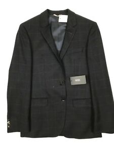 Hugo Boss - Navy/Blue Check Blazer - 40R - *NEW WITH TAGS* RRP £380