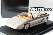 LAMBORGHINI ATHLON BERTONE 1980 METAL GREY WHITEBOX WB508 1/43 GRIS METALLIQUE