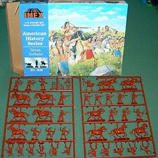 Imex Sioux Indians 1/72  MIB Native  American Warriors