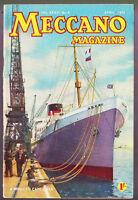 Meccano Magazine - Vintage - Vol. XXXVI, NO. 4, April 1951