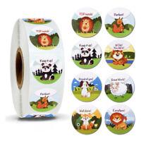 500pcs/roll Reward Stickers for Students Teachers Encouragement Sticker Kid Pg
