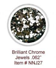 """Nubar Nail Jewels Brilliant Chrome Jewels .062"""""""