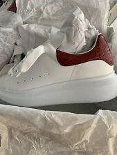Alexander McQueen Oversized Platform White/Snake  Sneakers US 10 / 40