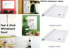 Whiteboard Removable Vinyl Sticker white board Sheet Dry erase Decal 180 x 60cm