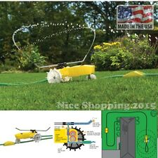 Traveling Sprinkler Grass Watering Lawn Garden Patio Care Auto Move System Usa