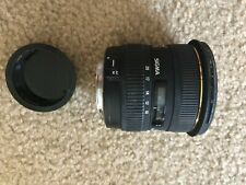 Sigma 10-20mm for Canon, some pitting