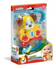 Clementoni 17117 Sings and Teaches First Letters Puppy Electronic Rattle - Multi