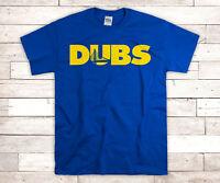 Warriors Classic Original DUBS Logo Bridge T shirt Brand  Dub Nation New