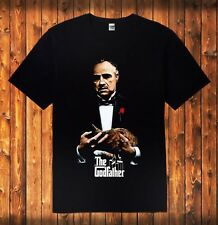 New The God Father Classic Movie Men's Black 100% Cotton T Shirt Sizes S to 4XL