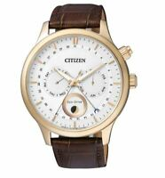 Citizen Eco-Drive Men's Global Collection Rose Gold Case 42mm Watch AP1052-00A
