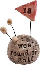 More details for mini sculpture - wee golf by deborah cameron