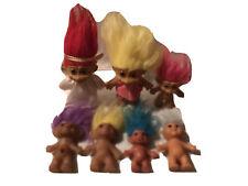 More details for vintage russ trolls bundle x7 includes jewel belly, uneedadoll, angel, korea etc