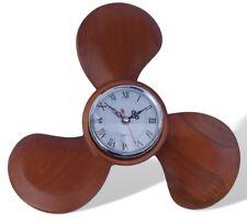 Orologio da parete Elica in legno