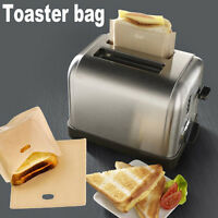 Sandwich-Toaster-Toast-Taschen Wiederverwendbare Sicherheit hitzebeständ 0U