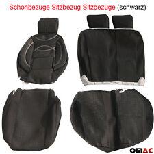 TETRIS Schonbezüge Sitzbezug Sitzbezüge (schwarz) VW T4  LT  T5 T6  CRAFTER 2+1
