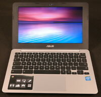 "ASUS Chromebook C200M 11.6""  N8240 Dual-Core 16GB 4GB RAM Laptop With Charger"