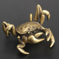 Desk Crab Ornament Decoration Handmade Vintage Animal Miniature Statue