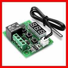 Digital Temp Thermostat Temperature Controller Sensor Relay Switch -50-110°C UK