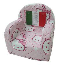 Poltrona sedia poltroncina HELLO KITTY Sanrio cameretta col. rosa G812