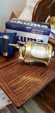 Okuma Titus Gold TG50 II Machined Aluminum 2-Speed Lever Drags Reels