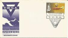 Papua New Guinea  1972 YWCA Convention  Port Moresby Aviation Anniversary  Cover