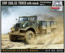 Mirror Models 1/35 CMP C60L GS Truck with winch 35162