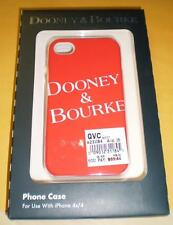 Dooney & Bourke iPhone Red Case 4 & 4S