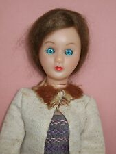 Vintage plastic fashion doll 1960's Hong Kong Sleepy eyes original outfit
