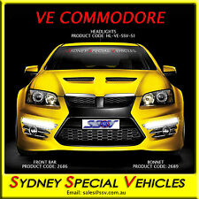 HEADLIGHTS FOR VE COMMODORE E1 E2 E3 HSV GTS CLUBSPORT MALOO SENATOR NEW PAIR