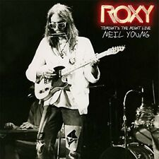 Roxy - Tonight's The Night Live - Neil Young (2018, CD NEUF)
