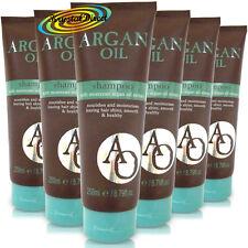 6x Argan Oil Shampoo 250ml Moroccan Argan Oil Extract Shiny Smooth Healthy Hair
