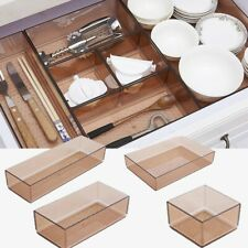 Home Storage Box Sundries Cutlery Drawer Organizer Tableware Accessory