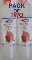 PACK OF  2 x 600ML PURE ROSE WATER - TOP OP -TOP QUALITY