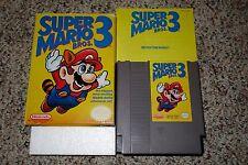Super Mario Bros 3 (Nintendo Entertainment System NES 1990) Complete GOOD E F