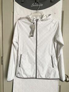 Womens Adidas Climastorm Rain/running Jacket Fuschia Sz Small NWT