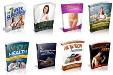 100 FITNESS AND HEALTH  EBOOK MASTER RESELL RIGHTS PDF