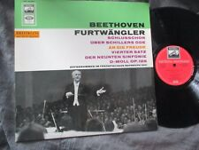 FURTWANGLER BAYREUTH 1951 ODE TO JOY of BEETHOVEN SYMPHONY No.9 ONE SIDE PLAY NM