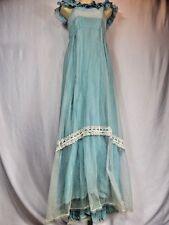 Vintage 1950 Halloween Retro Masquerade Costume Grecian Greek Godess Empire Gown