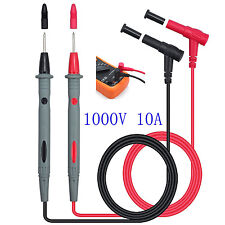 Universal 1000V 10A Test Probes Pen Multi Meter Leads Test Cable Voltage Pen