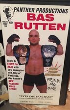 Extreme Pancrease - Bas Rutten VHS RARE Stances Footwork Kicks and Punches