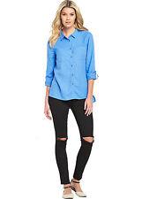 Women's Linen Tops & Shirts